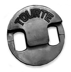 Tourte 2-Hole Violin Mute