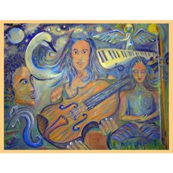 Dov ''Classical Fantasy'' Muse-Art Note Card by Dov