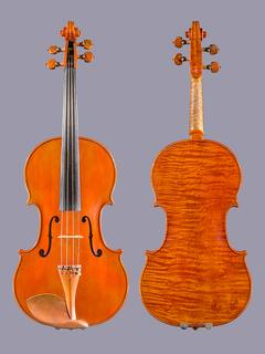 Christopher Dungey 16 1/4'' viola, Portland, 1986