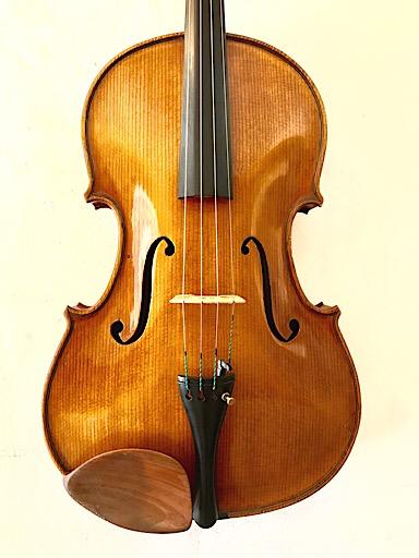 "American 16.5"" unlabeled viola, Tertis model"