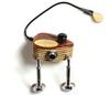Kremona KREMONA Universal piezo violin/viola pickup with 1/4'' jack and volume control
