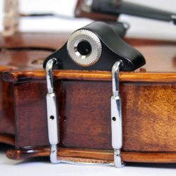 Kremona KREMONA Universal piezo violin/viola pickup with deluxe wooden housing and 1/4'' jack