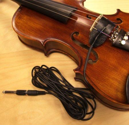 Last Resort Music Publishing Mighty Mini Pickup for Violin, Viola, Cello