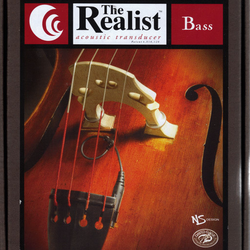 Realist REALIST Copperhead bass transducer (pickup) with 1/4'' jack, by David Gage