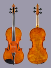"Karl Adam Hoerlein 17"" viola 1892 Wuerzburg, GERMANY"