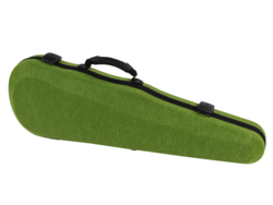 Winter Jakob Winter shaped felt 4/4 violin case, GERMANY, green