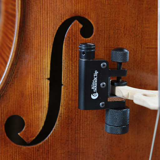 Realist REALIST cello SoundClip clamp-on transducer (pickup) with 1/4'' jack & volume control
