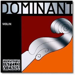 Thomastik-Infeld DOMINANT violin D string, silver, straight, medium, by Thomastik-Infeld