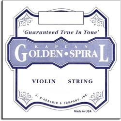 D'Addario D'Addario Golden Spiral Solo violin E string, medium, loop-end