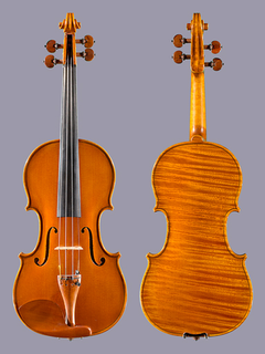Fine Chinese 4/4 violin with one-piece back