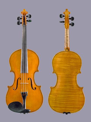 Clarence Stalcup 4/4 violin, 1936 Arcadia, No.121