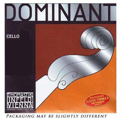 Thomastik-Infeld DOMINANT cello D string, chrome wound, light, by Thomastik-Infeld