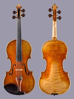 Italian Gaspar Borchardt 4/4 violin Cremona, ITALY, 2008