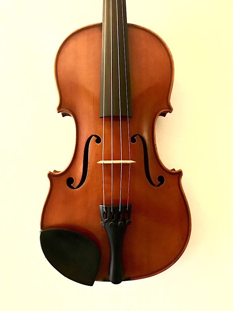 Austrian Ed. Heidegger violin, 1935  Linz, AUSTRIA