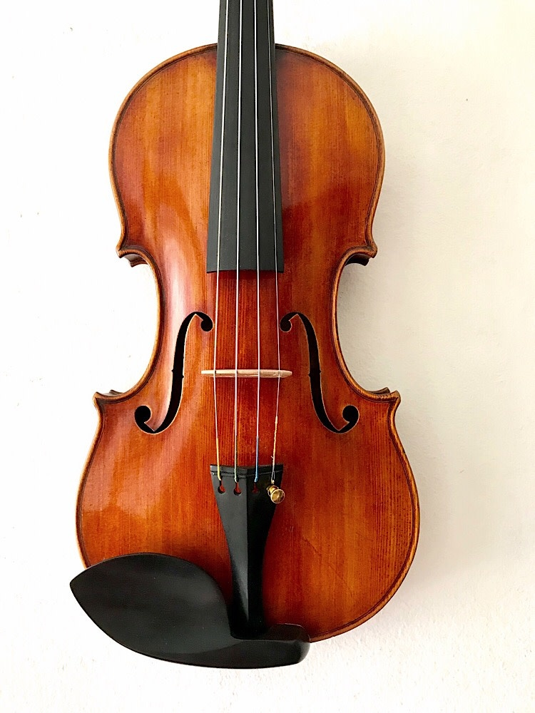 FRANK J. CALLIER violin, 1929, Hollywood, California