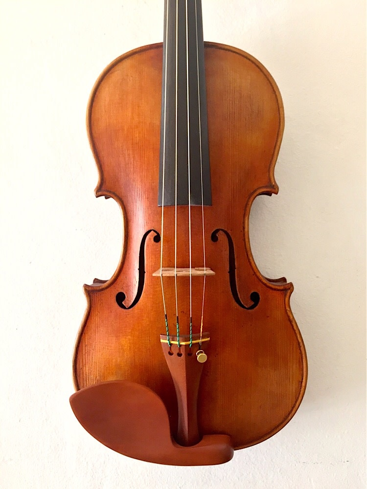 Douglas Cox violin, Provigny Strad 1716 model, #933, USA, 2016