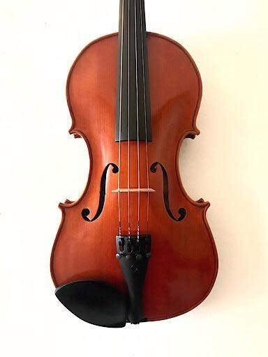 Damaged M.J. Newman violin #16, 1979, Los Angeles,  As-is, USA