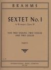 International Music Company Brahms, Johannes: Sextet No.1 in Bb major, Op.18 (2 violins, 2 violas, 2 cellos)