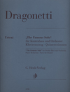 HAL LEONARD Dragonetti, D.: Famous Solo in E minor (double bass, piano reduction, and parts)