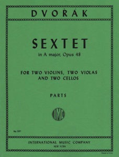 International Music Company Dvorak, A.: Sextet in A Major, Op.48 (2 violins, 2 viola, and 2 cellos)