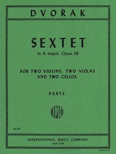 International Music Company Dvorak, A.: Sextet in A Major, Op.48 (2 violins, 2 viola, and 2 cellos)