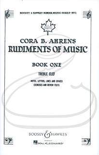 HAL LEONARD Ahrens: Rudiments of Music, Vol.1 - Boosey & Hawkes