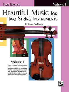 Alfred Music Applebaum, S.: Beautiful Music for Two String Instruments, Book 1 (2 basses)