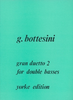 Carl Fischer Bottesini, Giovanni: Gran Duetto #2 (2 basses)