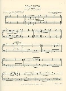 International Music Company Bottesini, Giovanni (Mensch): Concerto per Due Contrabassi (2 basses & piano)