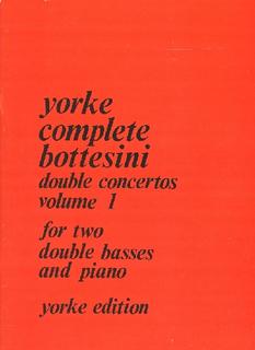 Carl Fischer Bottesini, Giovanni (Slatford): Double Concertos Vol.1 (2 basses & piano)