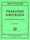 International Music Company Bottesini (Sankey): Passione Amorosa (2 basses & piano) International