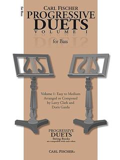 Carl Fischer Clark, Larry & Doris Gazda: Progressive Duets, Vol.1 Easy to Medium (2 basses)