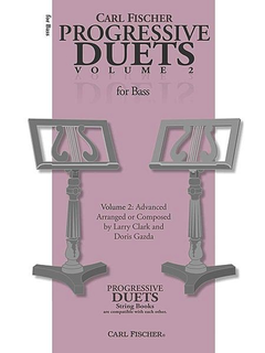Carl Fischer Clark, Larry & Doris Gazda: Progressive Duets, Vol.2 Easy to Medium (2 basses)