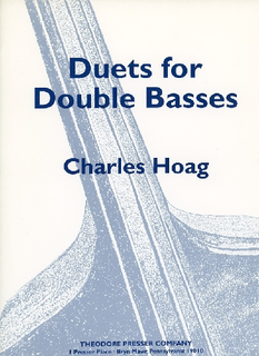 Carl Fischer Hoag, Charles: Duets for Double Basses