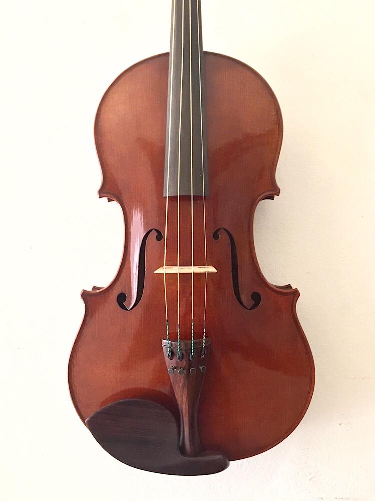 """Chrapkiewicz / Rapkievian viola, 16.5"""", Nashville TN, 1989"""