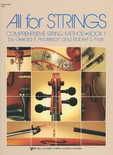 Anderson & Frost: All for Strings, Bk.1 (bass)