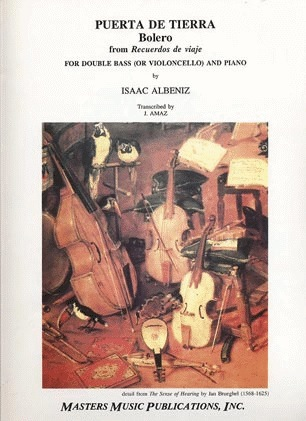 LudwigMasters Albeniz, Isaac: Bolero (cello & piano or bass & piano)   Out of Print