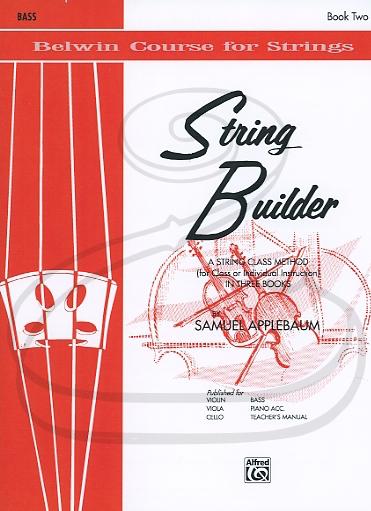 Alfred Music Applebaum: String Builder, Bk.2 (bass) Belwin