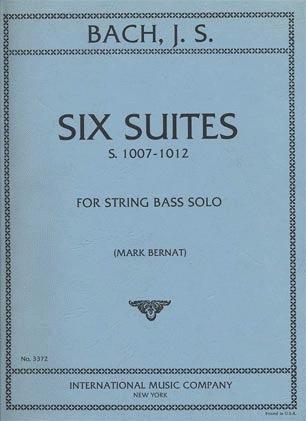 International Music Company Bach, J.S. (Bernat): Six Suites for String Bass Solo