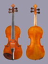 7/8 E.H. Roth violin, 1952 Markneukirchen, Germany