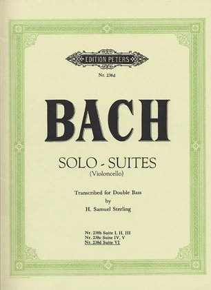 Bach, J.S. (Sterling): Suite No.6 (bass solo)