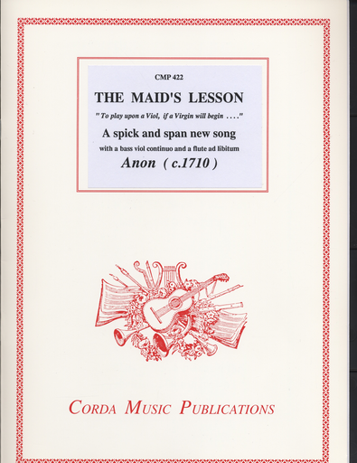 Anonymous: The Maid's Lesson (soprano, bass violin & continuo with flute ad. lib.