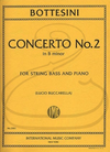 International Music Company Bottesini (Buccarella): Concerto No.2 in B minor (bass & piano) International