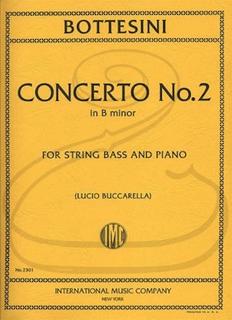 International Music Company Bottesini (Buccarella): Concerto No.2 in B minor (bass & piano) International