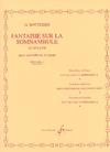 Carl Fischer Bottesini, Giovanni: Fantaisie sur somnambule (bass & piano)