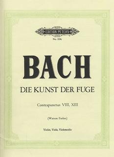 Bach, J.S. (Forbes): Art of Fugue-2 Fugues (violin, viola, cello)