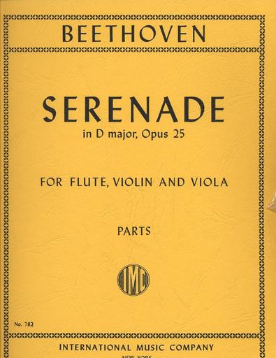 International Music Company Beethoven, L.van: Serenade in D major Op.25 (Flute, Violin & Viola)