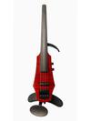 NS Design NS Design WAV4 Transparent Red 4-string violin with case