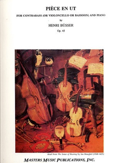 LudwigMasters Busser, Henri: Piece in C Op.45 (bass & piano)