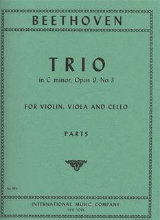 International Music Company Beethoven: Trio in C minor Op.9 No.3 (violin, viola & cello) IMC